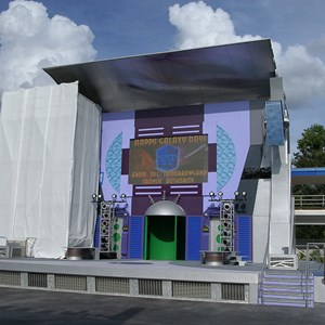 1 of 1: Stitch's SuperSonic Celebration - Stitch's SuperSonic Celebration stage refurbishment