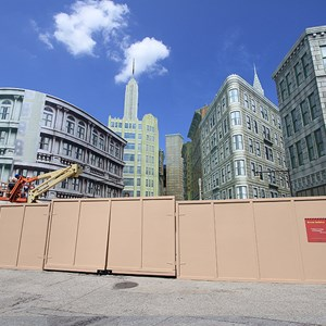 1 of 2: Streets of America - New York Street facade refurbishment