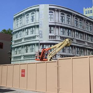 2 of 2: Streets of America - New York Street facade refurbishment
