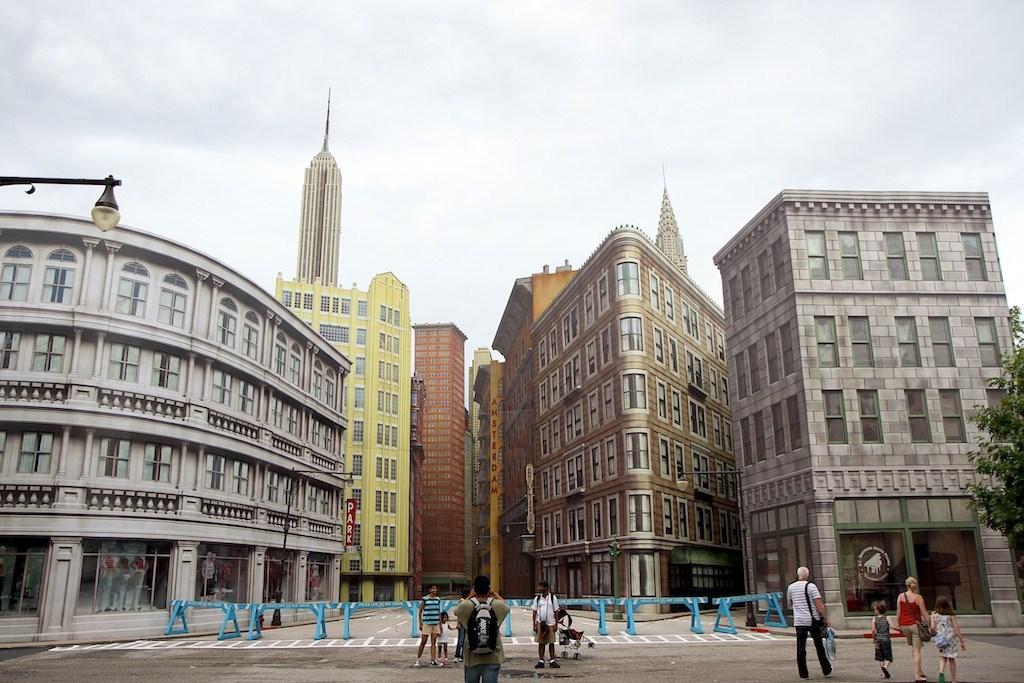 Completed New York Street facade refurbishment