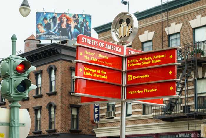 Streets of America - The facades in detail