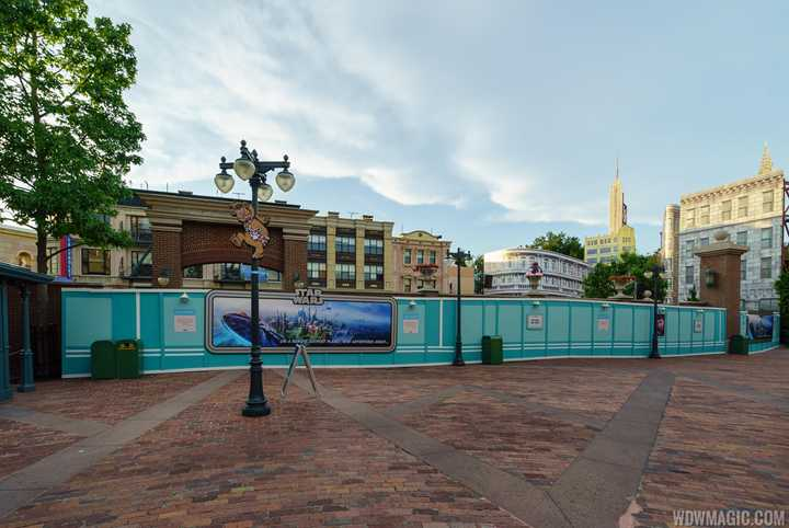 PHOTOS - Streets of America demolition underway at Disney's Hollywood Studios