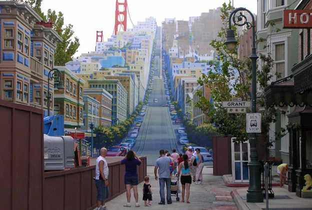 San Francisco facade construction