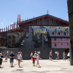 1 of 2: Streets of America - San Francisco facade replacement