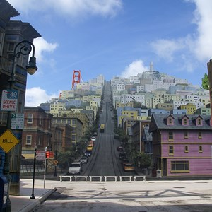 1 of 1: Streets of America - San Francisco facade replacement complete