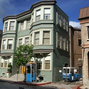 2 of 12: Streets of America - Streets of America San Fransico area