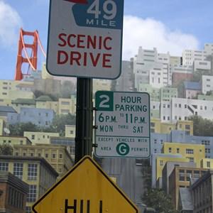 3 of 12: Streets of America - Streets of America San Fransico area