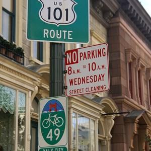 4 of 12: Streets of America - Streets of America San Fransico area