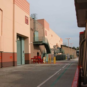 9 of 14: Studio Backlot Tour - New tram tour route during Residential Street demolition