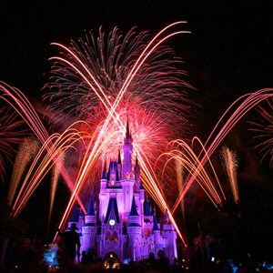 1 of 10: Summer Nightastic! Fireworks Spectacular - Show viewed from the end of Main Street USA