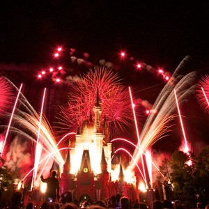 7 of 10: Summer Nightastic! Fireworks Spectacular - Show viewed from the end of Main Street USA