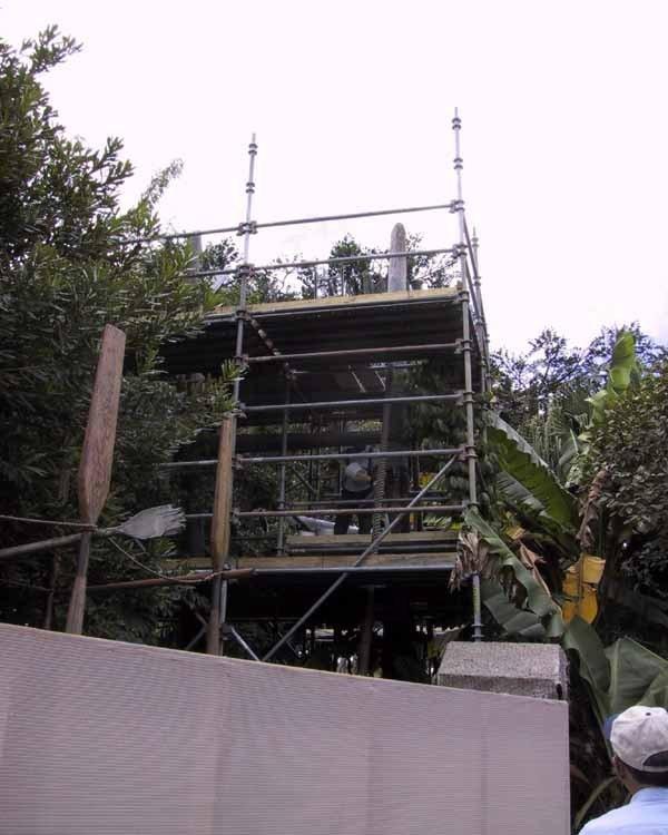Swiss Family Treehouse refurbishment