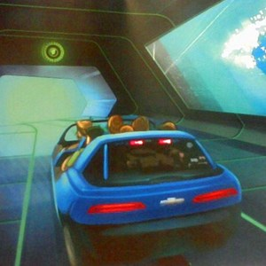 1 of 1: Test Track - New Test Track in-ride concept art