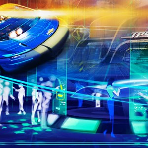 1 of 5: Test Track - New Test Track concept art
