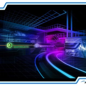 2 of 5: Test Track - New Test Track concept art