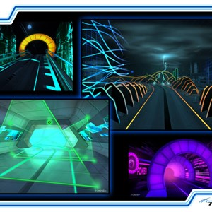 4 of 5: Test Track - New Test Track concept art