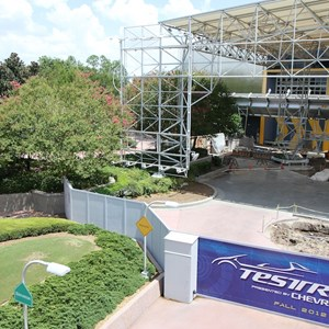 1 of 2: Test Track - Test Track refurbishment - entrance area