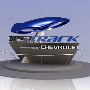 1 of 1: Test Track - New Test Track entrance marquee