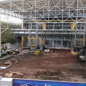 1 of 5: Test Track - New Test Track construction - entrance area
