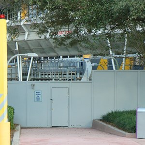 1 of 4: Test Track - Test Track construction - entrance area