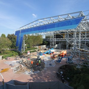 2 of 9: Test Track - Test Track construction - entrance area