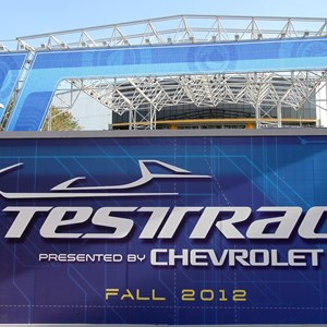 4 of 9: Test Track - Test Track construction - entrance area