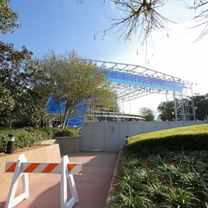 7 of 9: Test Track - Test Track construction - entrance area