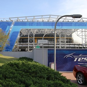 9 of 9: Test Track - Test Track construction - entrance area