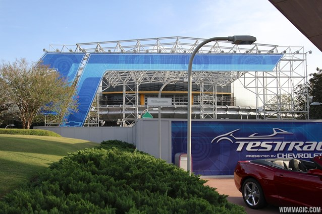 Test Track - Test Track construction - entrance area