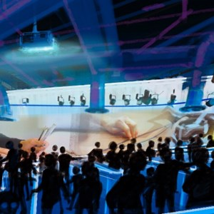 6 of 15: Test Track - New Test Track concept art - queue