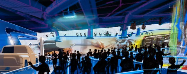 Test Track - New Test Track concept art - queue