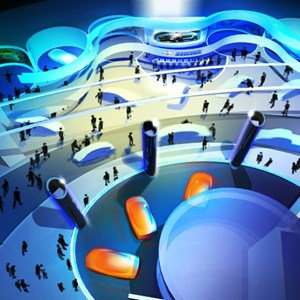 8 of 15: Test Track - New Test Track concept art - post show