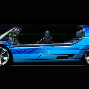 10 of 15: Test Track - New Test Track concept art - Sim Car
