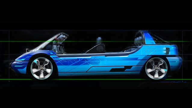 Test Track - New Test Track concept art - Sim Car