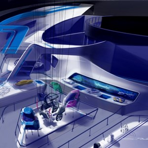 11 of 15: Test Track - Test Track concept art