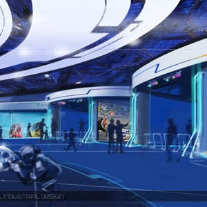 15 of 15: Test Track - New Test Track concept art - post show