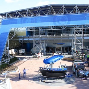 1 of 9: Test Track - Test Track refurbishment pre-opening exterior