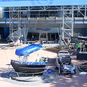 2 of 9: Test Track - Test Track refurbishment pre-opening exterior