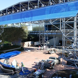 5 of 9: Test Track - Test Track refurbishment pre-opening exterior