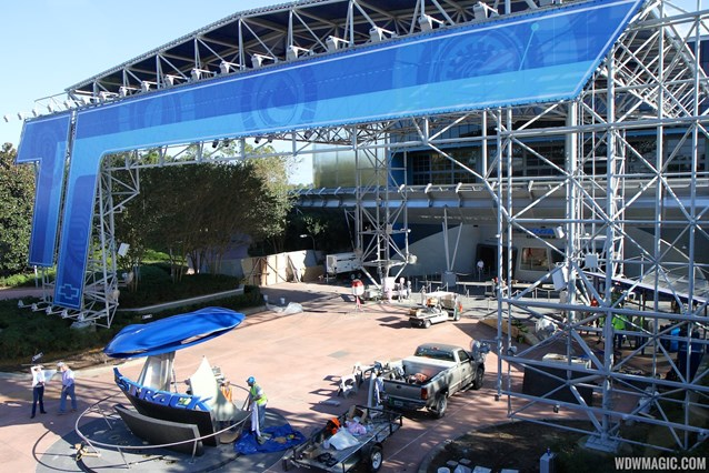 Test Track - Test Track refurbishment pre-opening exterior