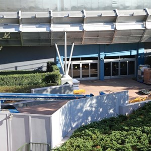 6 of 9: Test Track - Test Track refurbishment pre-opening exterior