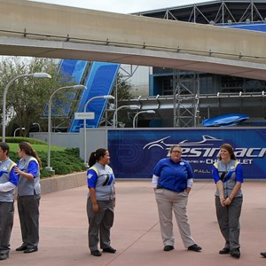 8 of 9: Test Track - Test Track refurbishment pre-opening cast member costumes