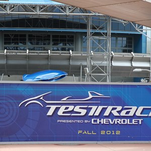 9 of 9: Test Track - Test Track refurbishment pre-opening exterior