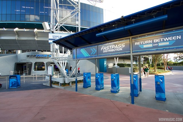 Test Track - New 2012 Test Track - FASTPASS kiosks