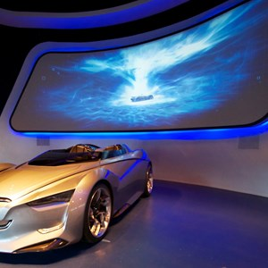 6 of 48: Test Track - New 2012 Test Track - queue area concept car