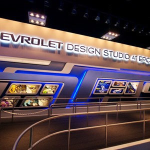 9 of 48: Test Track - New 2012 Test Track - Chevrolet Design Studio at Epcot