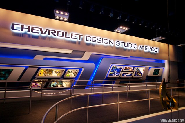 Test Track - New 2012 Test Track - Chevrolet Design Studio at Epcot