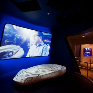 12 of 48: Test Track - New 2012 Test Track - queue area video