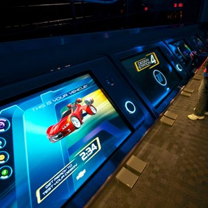 19 of 48: Test Track - New 2012 Test Track - Design Studio kiosk