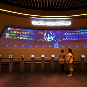 32 of 48: Test Track - New 2012 Test Track - Post Show high score board